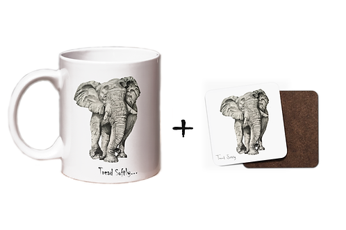 Tread Softly - Mug & Coaster Gift Set