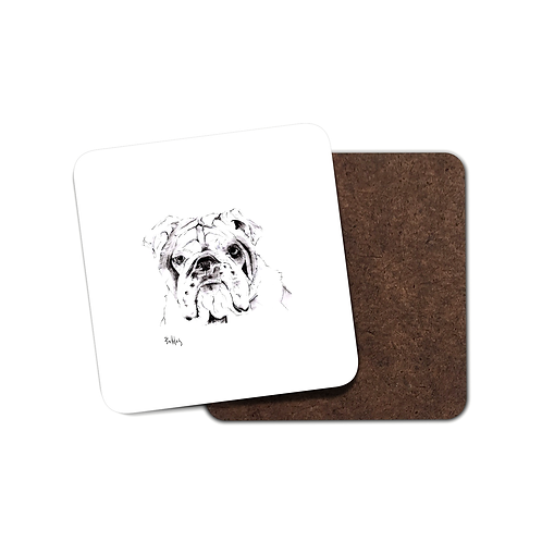 Bulldog - Coaster