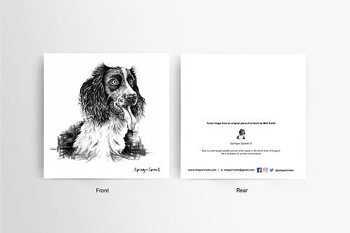 Springer Spaniel - Art Card