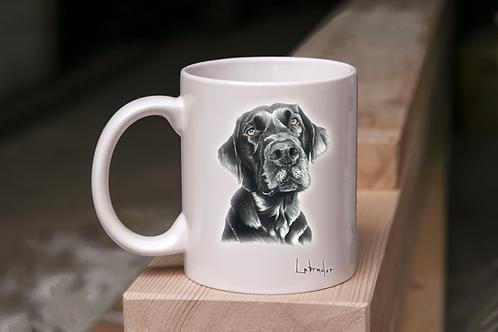 Black Labrador - Mug