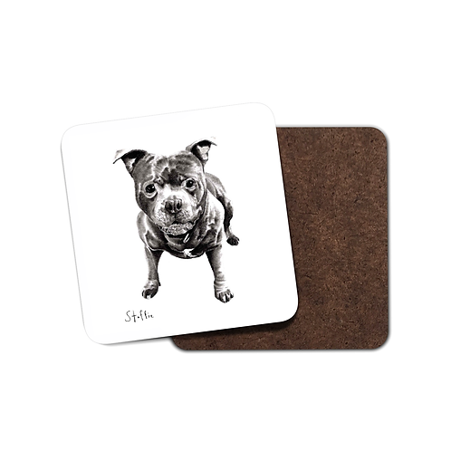 Staffie - Coaster