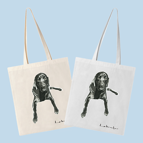 Labrador - Evening Repose - Tote Bag