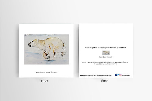 Happy Feet - Art Card