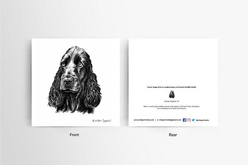 Cocker Spaniel - Art Card