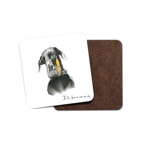 Doberman - Coaster