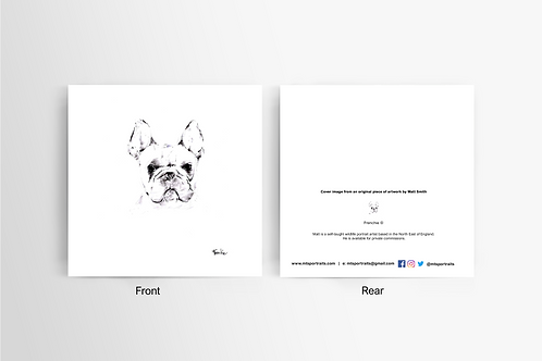 Frenchie - Art Card