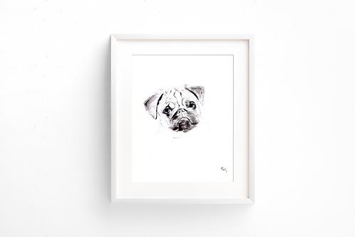 Pug - Print