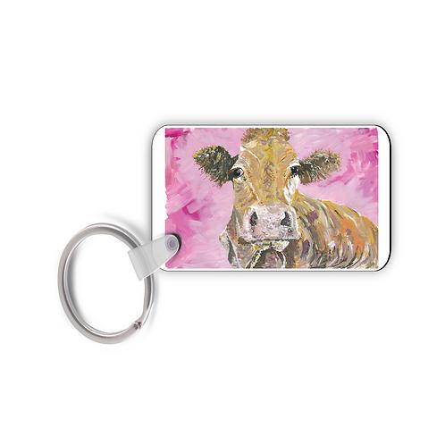 Ambleside Cow -Keyring