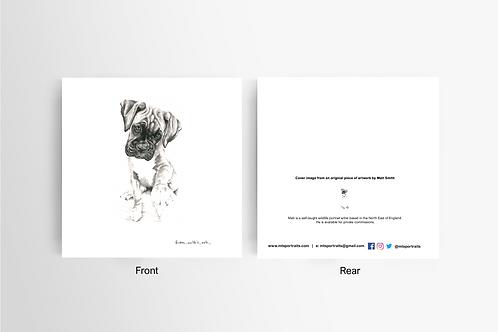 Paw - Art Card