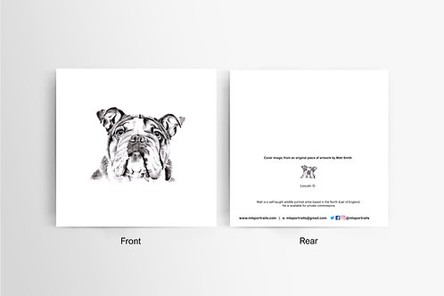 British Bulldog - Art Card
