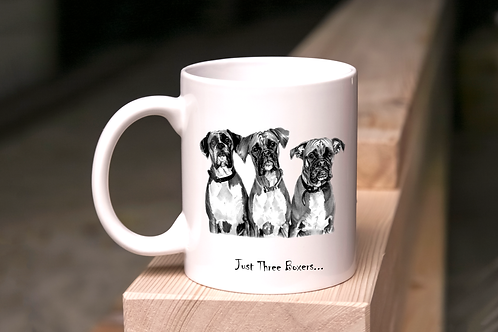 Just three Boxers - Mug