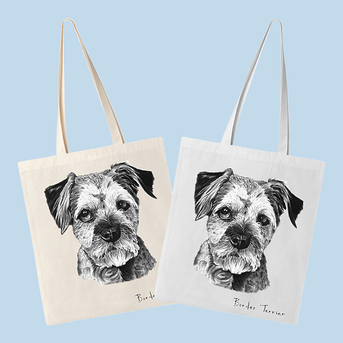 Border Terrier - Tote Bag