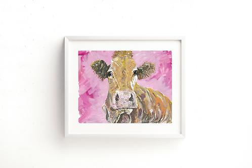 Ambleside Cow - Print