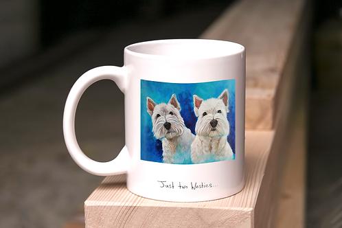 Just Two Westies - Mug