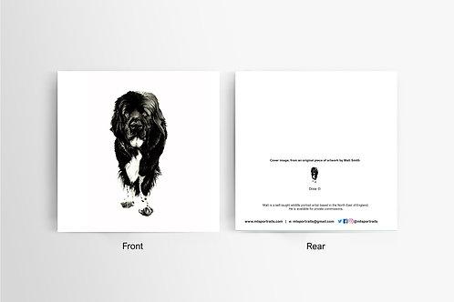 Newfie - Art Card
