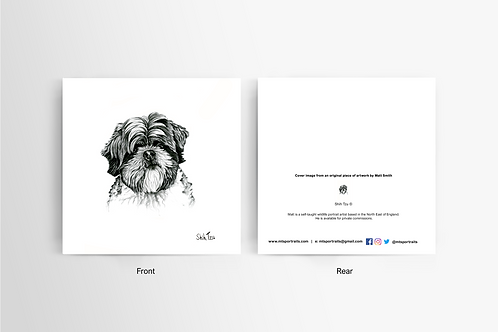 Shih Tzu - Art Card