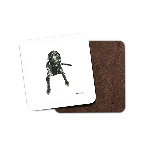 Labrador - Evening Repose - Coaster