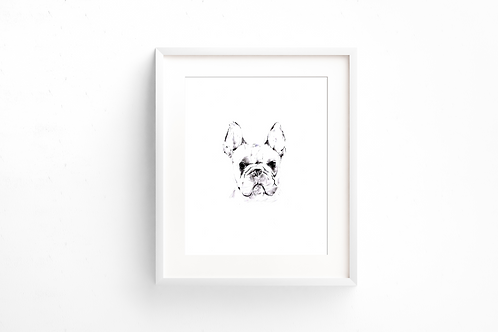 Frenchie - Print