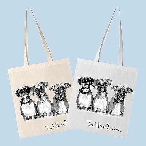 Just Three Boxers - Tote Bag