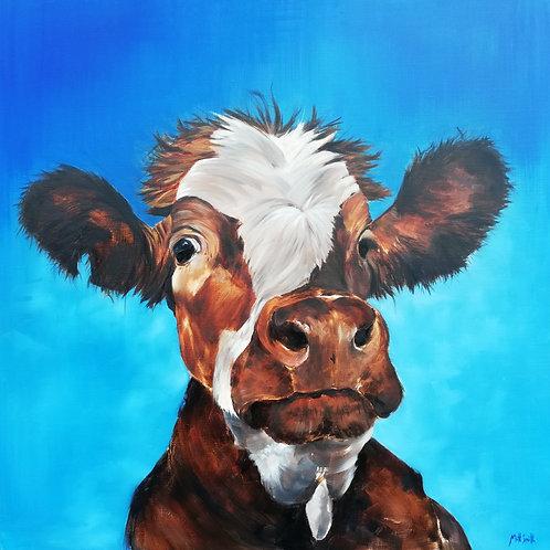 Curious - The Gormire Cow - Original