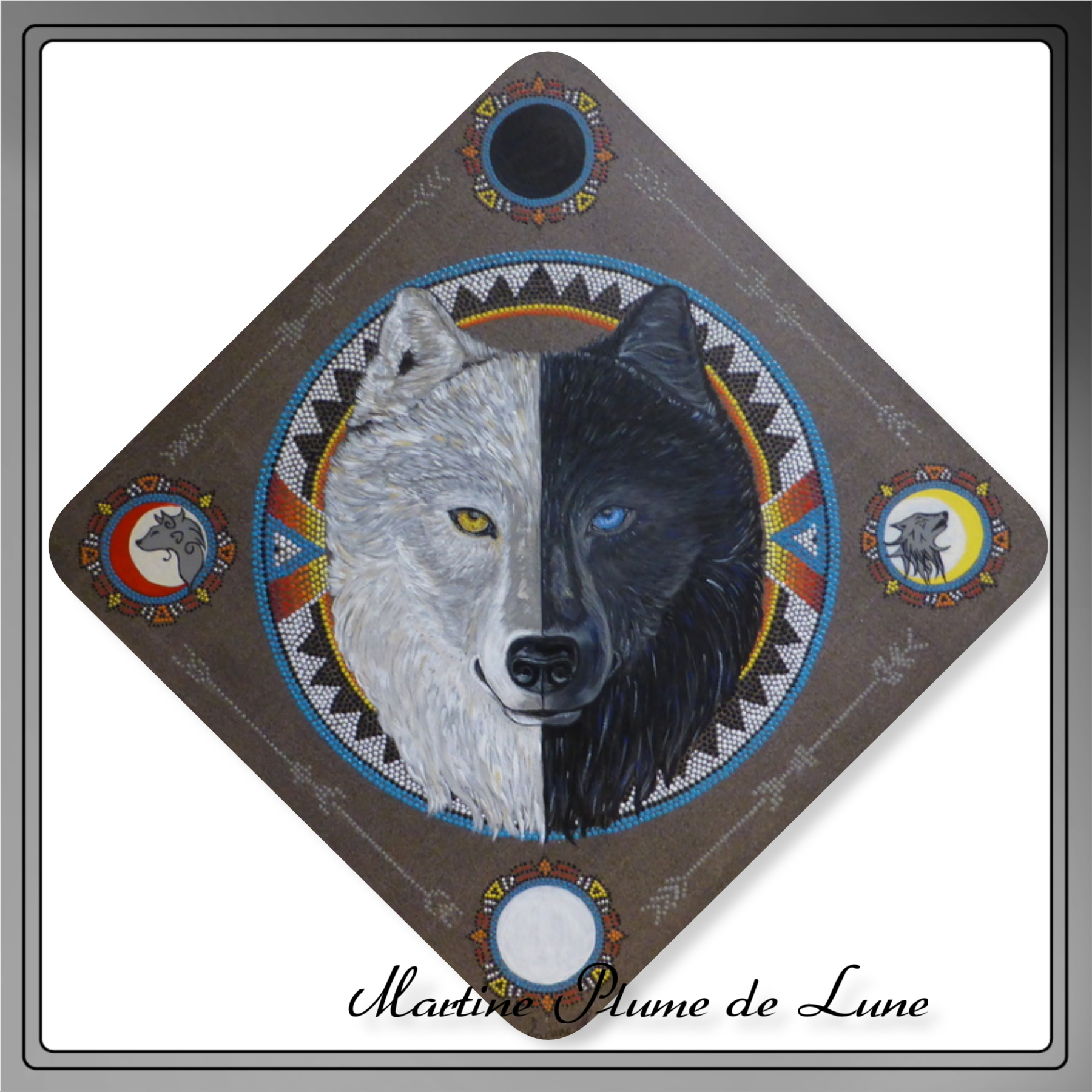 Frère Loup / Les deux loups