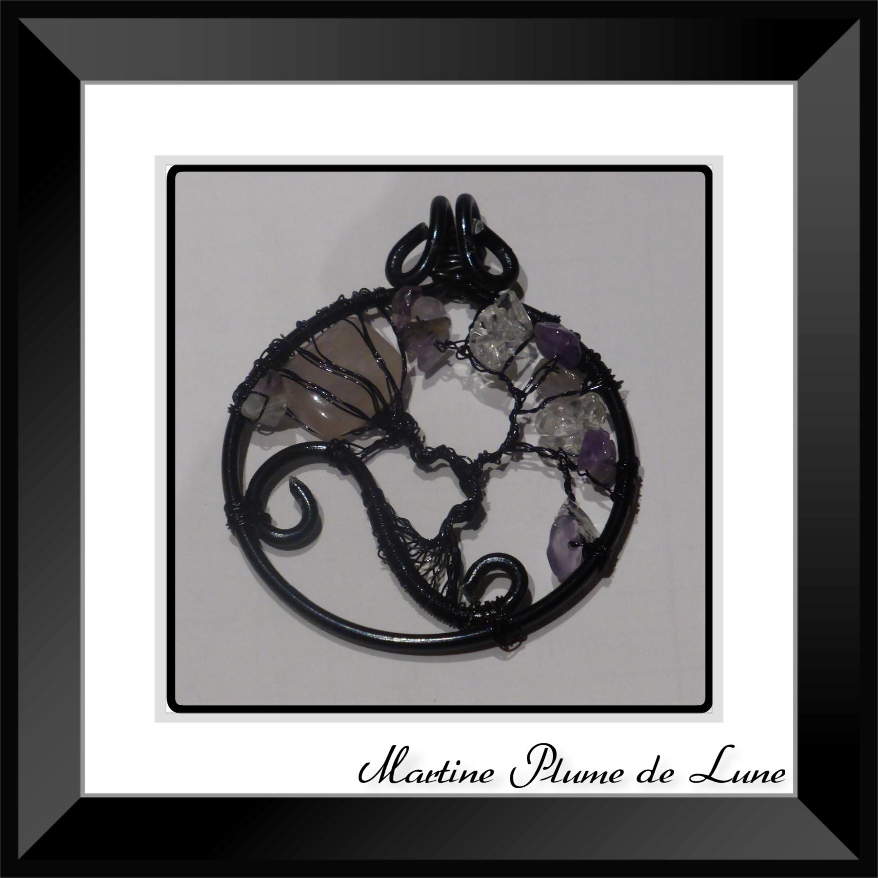 arbre de vie violet