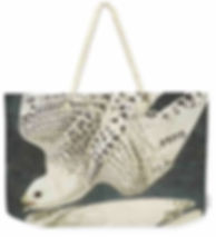 OR JER FALCON weeknd tote