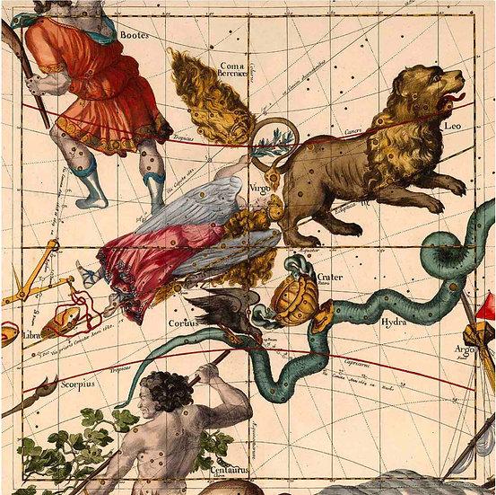 Constellation Chart 1693d