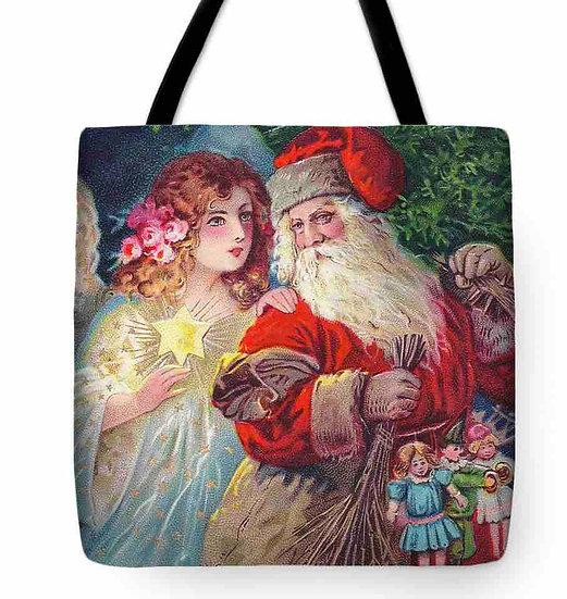Father Christmas Tote Bag