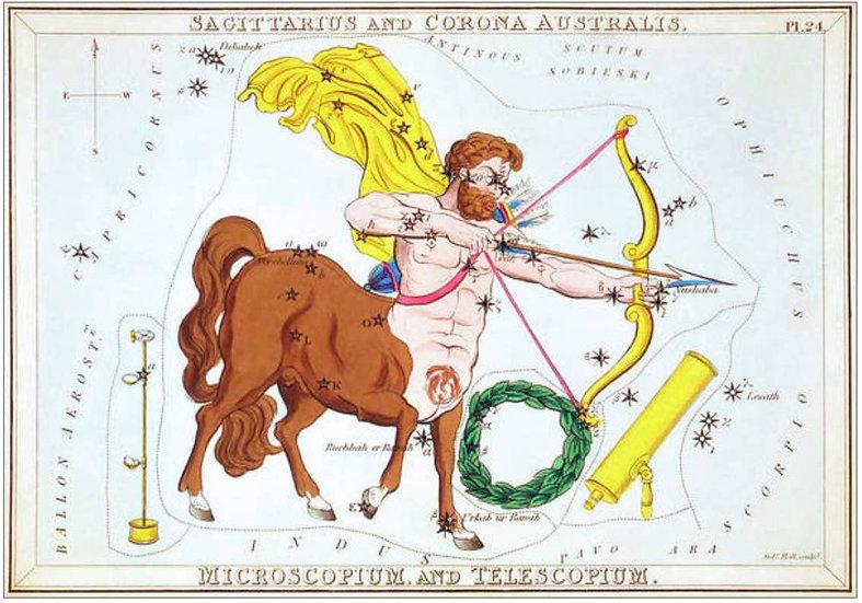 SAGITTARIUS, CORONA AUSTRALIS