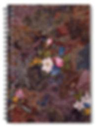 Antique floral Notebook