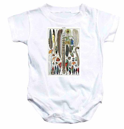 PLUMES - BABYS ONESIE
