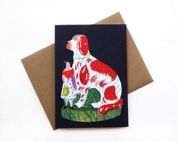 STAFFORDSHIRE - 6 CARD SET