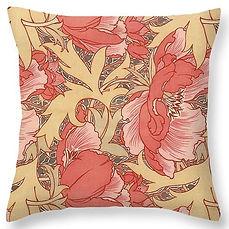 Poppies cushion