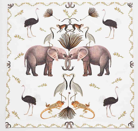 ELEPHANT NAPKINS SET OF 4