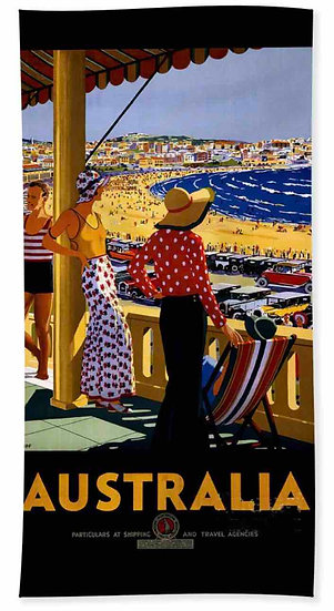 Australia Beach Towel