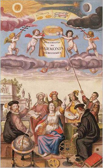 Harmonia Macrocosmica 1660 - Andreas Cellarius