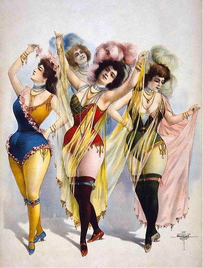 Chorus Girls  C1899
