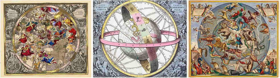 ANTIQUE CELESTIAL CHARTS