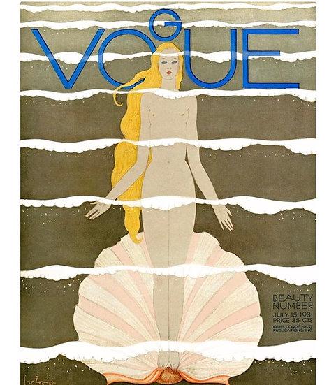 Shell goddess Vogue cover