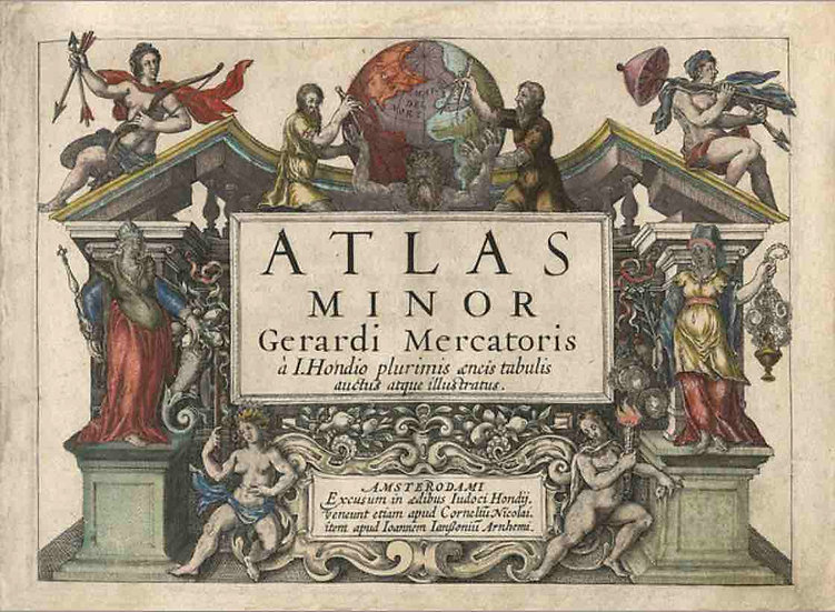 Atlas Minor 1607 - Gerardi Mercatoris
