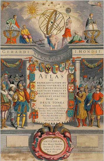 World Atlas 1633 - Gerardus Mercators