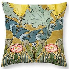 Birds in flight cushion