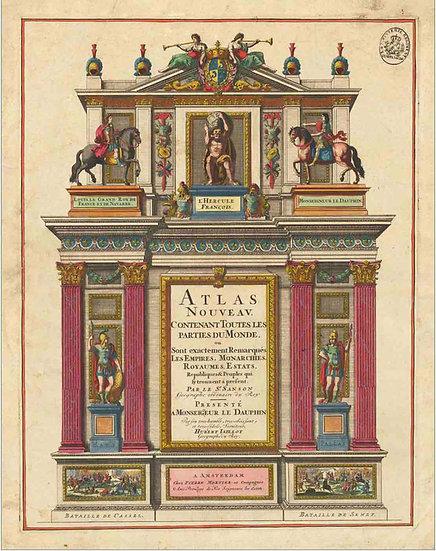 Atlas Nouveau. 1692 - Alexis-Hubert Jaillot