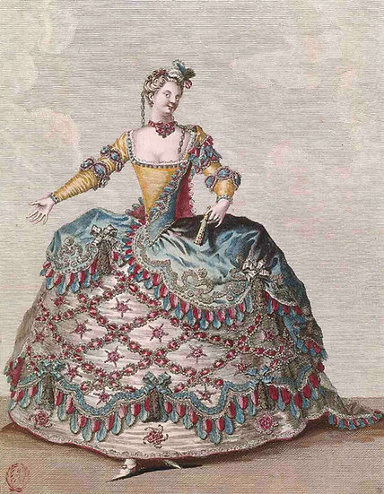 Costume for the Opera Ballet Les Indes Galantes