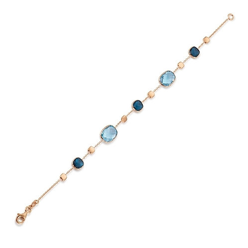 Armband Blautopas