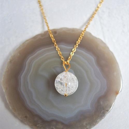 Halskette Bergkristall