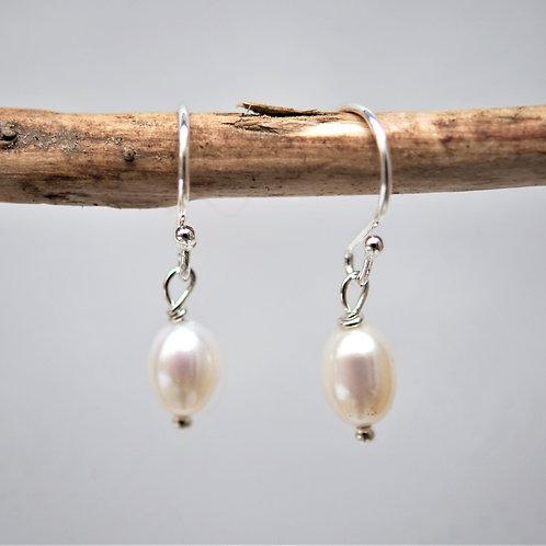 Ohrringe classic pearls