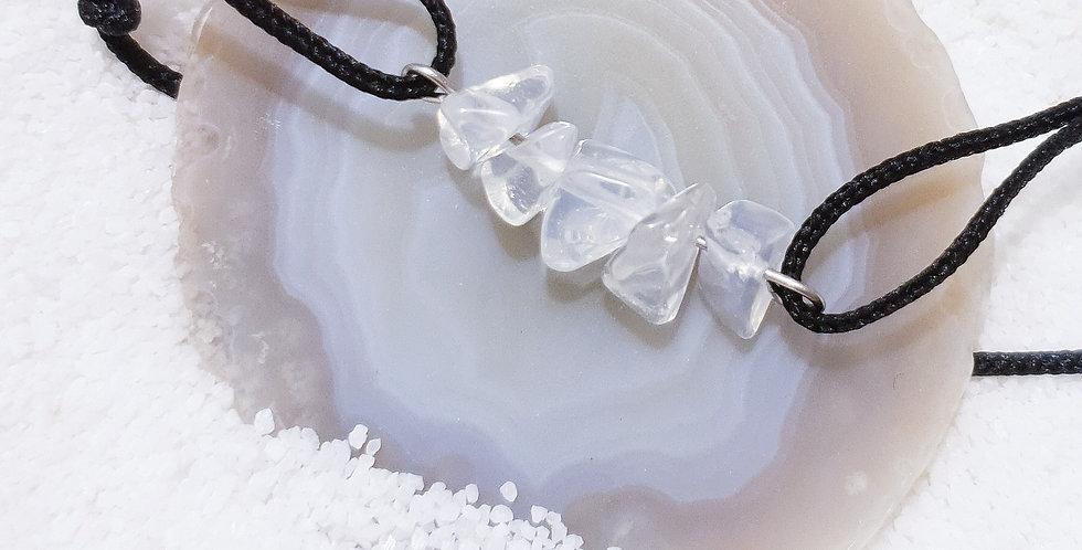 Armband Rohkristall