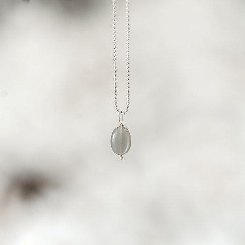 Halskette Mondstein